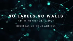 Picture of Action Monday Poster saying Celebrating Your Action 25.10.2021